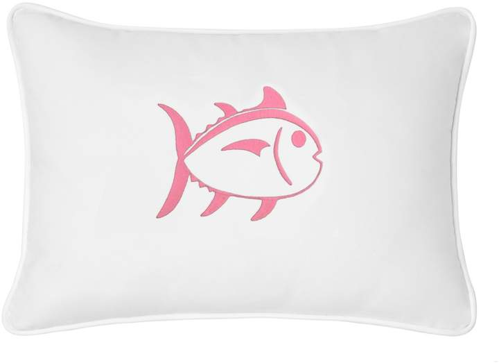 Embroidered Skipjack 12×18 Breakfast Pillow
