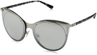 Ralph Lauren Sunglasses Women's Metal Woman Non-Polarized Iridium Oval Sunglasses