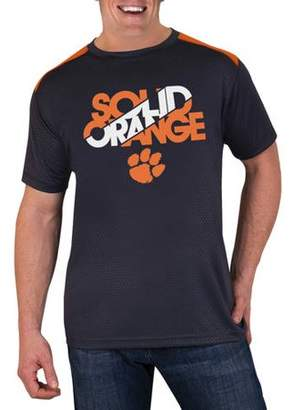 NCAA Clemson Tigers Men's Athletic-Fit Impact T-Shirt