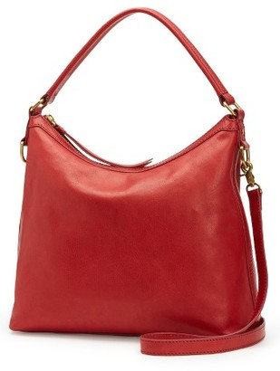 Frye Claude Leather Hobo - Red $398 thestylecure.com