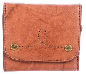Frye Leather Compact Wallet
