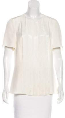 Jason Wu Embellished Short Sleeve Top w/ Tags