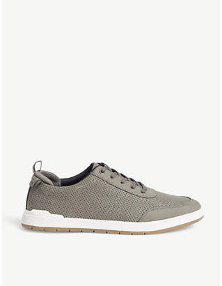 Aldo Dobyn perforated trainers