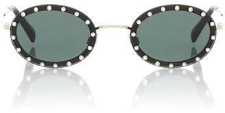 Valentino Oval sunglasses