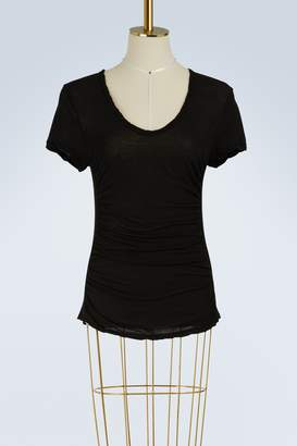 James Perse Mixed medium side panel t-shirt