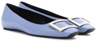Roger Vivier Belle Vivier leather ballerinas