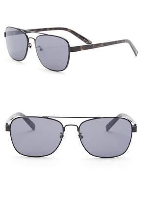 Joe's Jeans Women's Modified Aviator 56mm Sunglasses