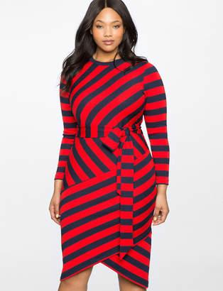 Blocked Stripe Dress