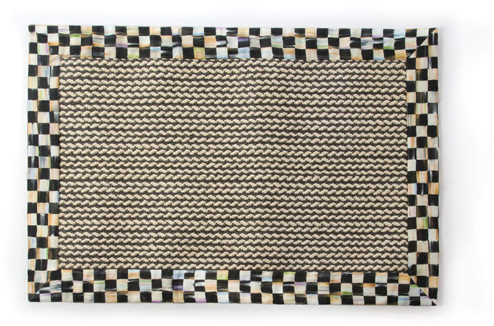 Mackenzie Childs Braided Wool/Sisal Rug, 2' x 3'