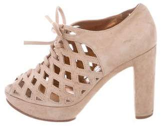 See by Chloe Suede Platform sandals