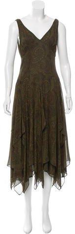 MICHAEL Michael KorsMichael Kors Silk Paisley Dress