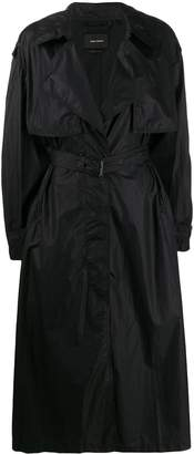 Isabel Marant concealed front trench coat