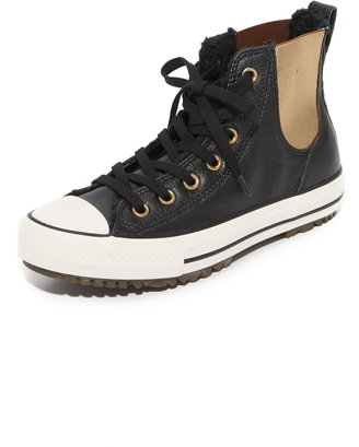 Converse Chuck Taylor All Star Chelsea Sneakers $90 thestylecure.com