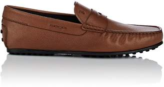Tod's Men's Front City Leather Penny Drivers