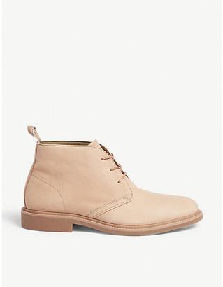 Aldo Messias leather desert boots