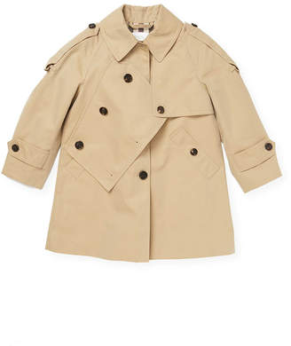 Burberry Button-Front Trenchcoat
