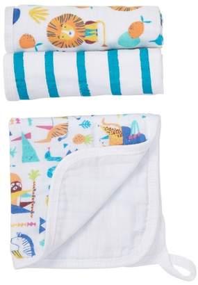 Aden Anais aden by aden + anais Going Bananas Wash Cloth - Set of 3
