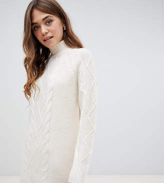 069bf1723c0a Cable Knit Jumper Dress - ShopStyle UK