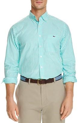 Vineyard Vines Elmont Gingham Tucker Classic Fit Button-Down Shirt $98.50 thestylecure.com
