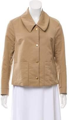 Marni Collared Long Sleeve Jacket
