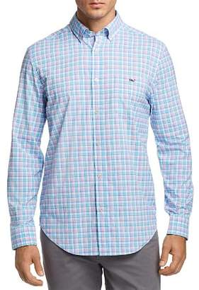 Vineyard Vines Tiki Bar Plaid Classic Fit Button-Down Shirt