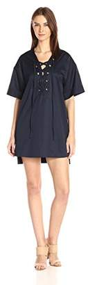 KENDALL + KYLIE Women's a-Line Shirting Dress