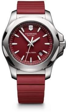 Victorinox Maverick Inox Stainless Steel& Rubber Watch