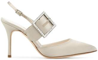 Manolo Blahnik Beladona buckle pumps