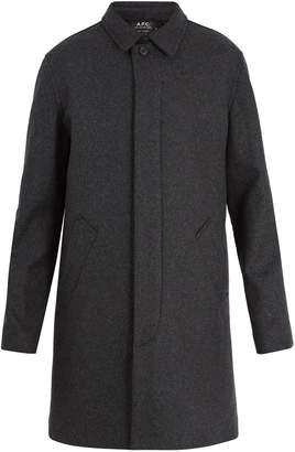 A.P.C. Mac New England wool-blend coat