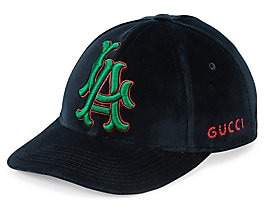 Gucci Women's L.A. Velour Baseball Cap