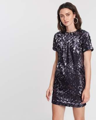 c46ec35f91d0e Dorothy Perkins Diamond Sequin Shift Dress