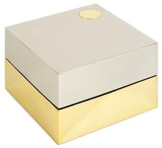 Jonathan Adler Electrum Square Box - Silver