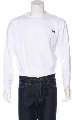 Calvin Klein Cropped Embroidered Sweatshirt