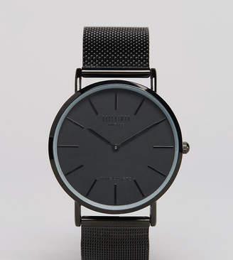 Reclaimed Vintage Inspired Classic Mesh Strap Watch In Black Exclusive to ASOS