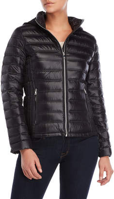 Calvin Klein Packable Quilted Hooded Down Jacket