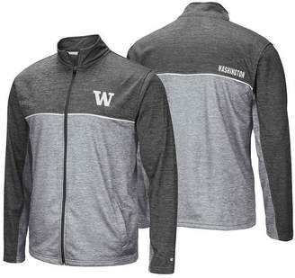 Colosseum Men Washington Huskies Reflective Full-Zip Jacket