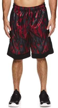 AND 1 Big Men's Polyester All Court Printed Camo Basketball Shorts