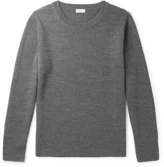 Dries Van Noten Ribbed Merino Wool Sweater
