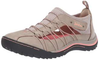 Jambu Women's Free Spirit Sneaker Taupe/Peach Nectar 8 M US