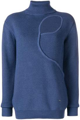 Esteban Cortazar turtleneck tear drop jumper