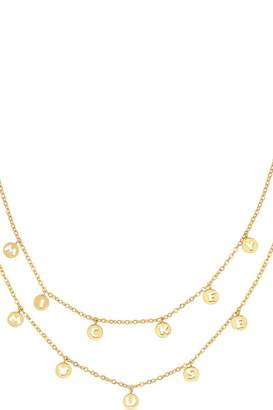 Disney Mickey Mouse Anniversary 2 Layer Necklace Dyn506