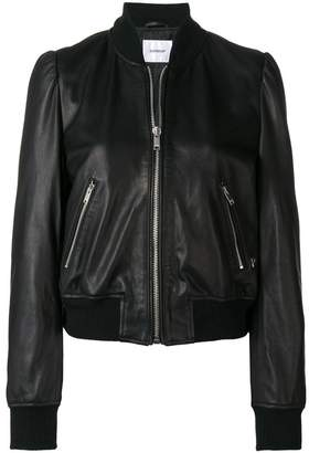 Dondup leather bomber jacket