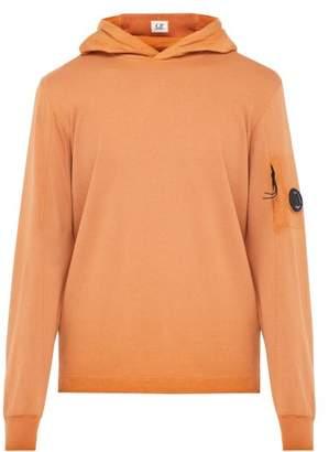 C.P. Company Re Colour Hooded Sweatshirt - Mens - Orange