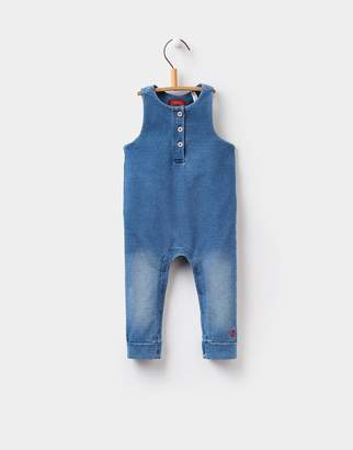 Joules Clothing Denim Frankie Jersey Denim Dungarees