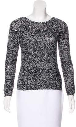 Alice + Olivia Scoop Neck Knit Sweater
