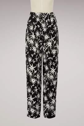 Lanvin Large printed pants