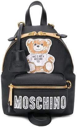 Moschino Teddy Bear patch backpack