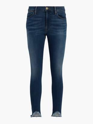 Frame Le Skinny De Jeanne Fringe Jeans