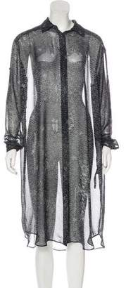 AllSaints Printed Chiffon Dress