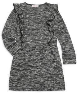 Design History Little Girl's Hatchi Ruffle Dress